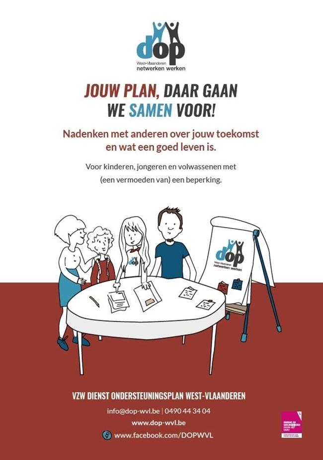 Nieuwe D.O.P-brochure, poster en presentatiemapje