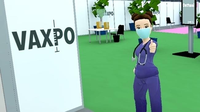 Bereid je bezoek virtueel voor aan vaccinatiecentrum Vaxpo